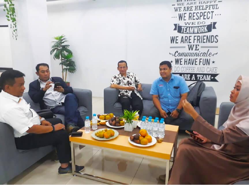 Meet up Dengan Komisaris PD pasar jaya , Team Anies & Ok oce